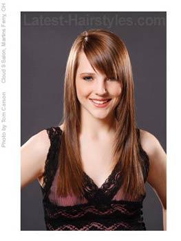 Superb 20 Hairstyles That39Ll Make You Want Long Hair With Bangs Short Hairstyles Gunalazisus