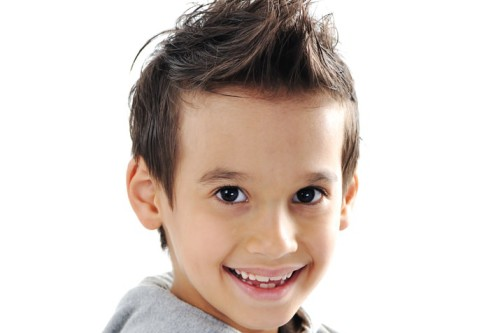 Cute Boys Hairstyle with Texture