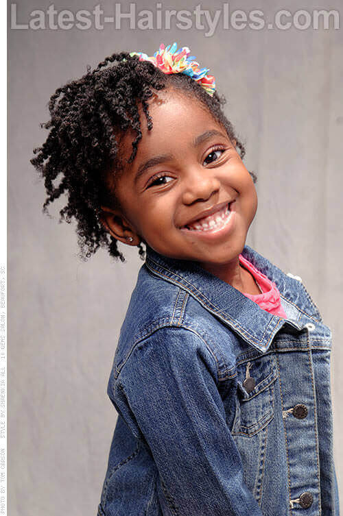 Awe Inspiring 20 Adorable Hairstyles For Little Girls Short Hairstyles For Black Women Fulllsitofus