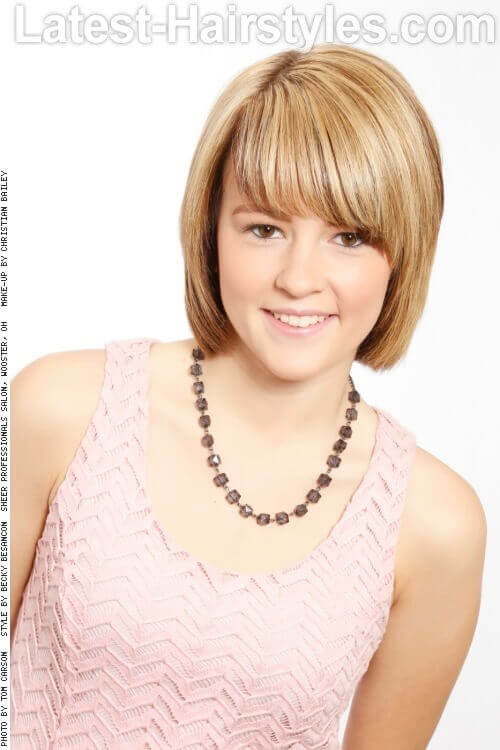 Short Sweet Hairstyle for Little Girls