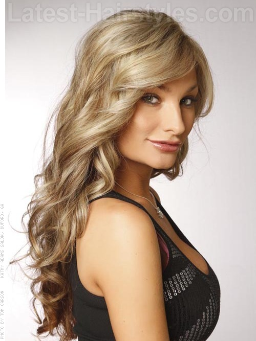 Apply Thermal Spray After Towel Drying The Hair 2 Smooth And Bend With A Large Round Brush And Blow Dryer 3 Curl The Entire Head With A Large Curling