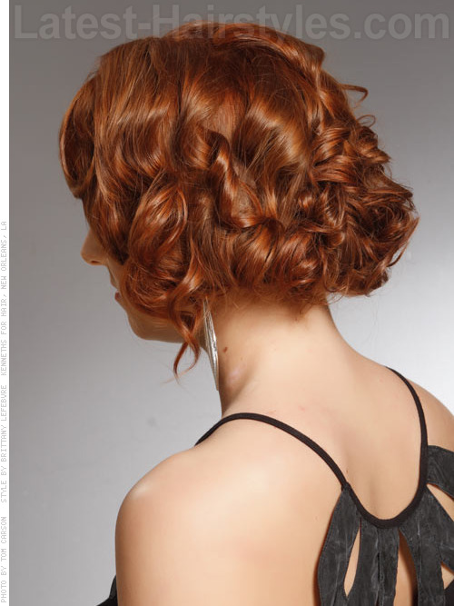 Tremendous The 25 Most Beautiful Updos For Medium Length Hair Short Hairstyles Gunalazisus