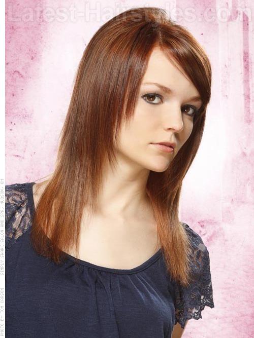 Tapered straight thin hair