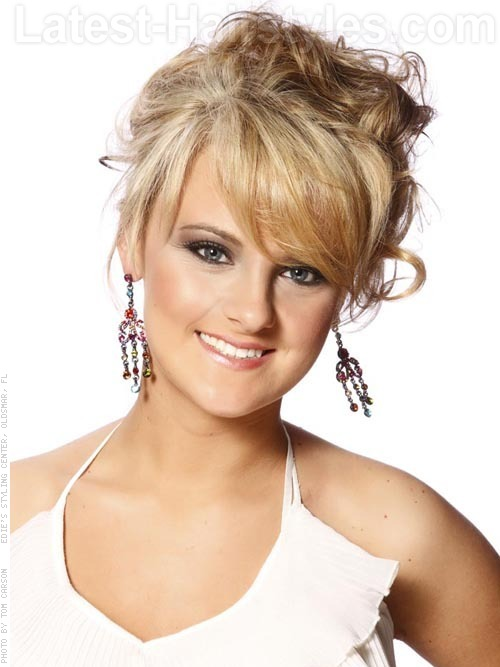 Excellent The 25 Most Beautiful Updos For Medium Length Hair Short Hairstyles Gunalazisus