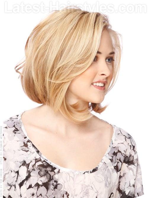 medium length hairstyles for thin hair 2