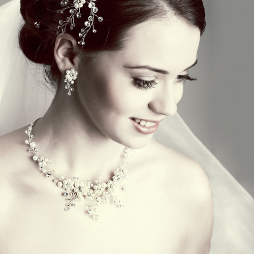 sparkling bridal hair accessories
