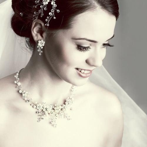 sparkling bridal hair accessories
