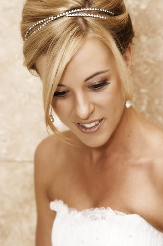 sparkling bridal headband wedding hair accessories