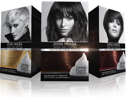 John Frieda precision DIY hair color