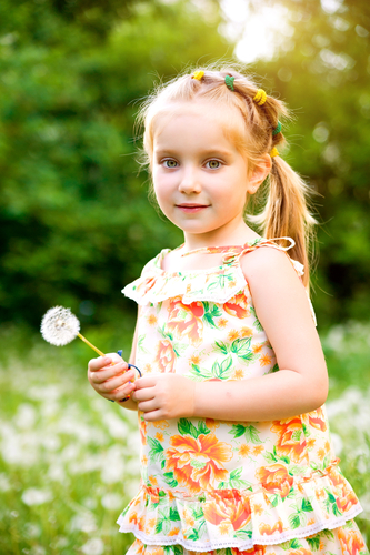 ponytail for little girls