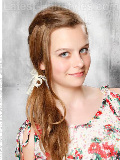 Enjoyable 20 Adorable Hairstyles For Little Girls Short Hairstyles For Black Women Fulllsitofus