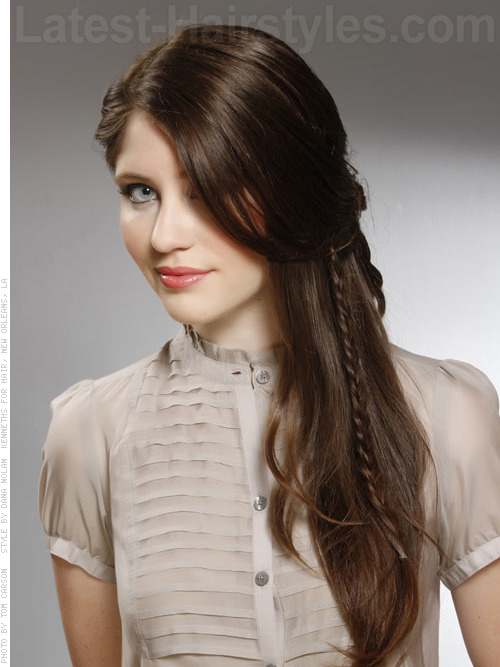 romantic dark hair color