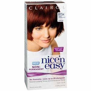 DIY hair coloring with Nice 'n Easy