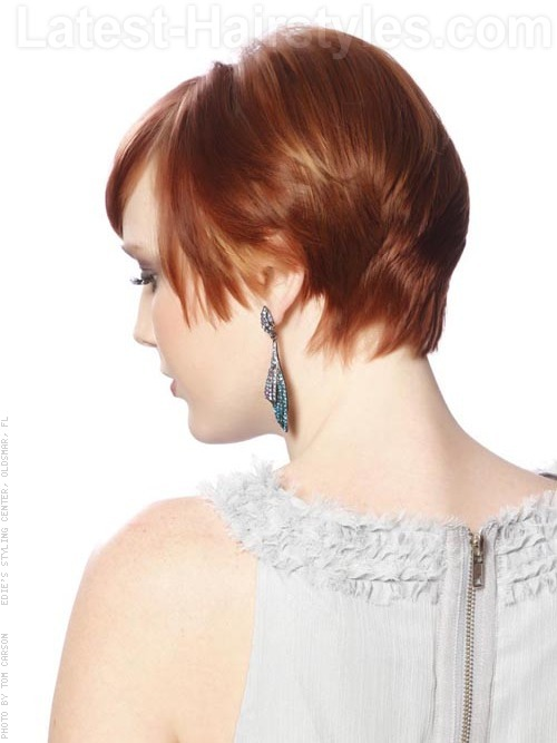 thin hair short layered cut 2