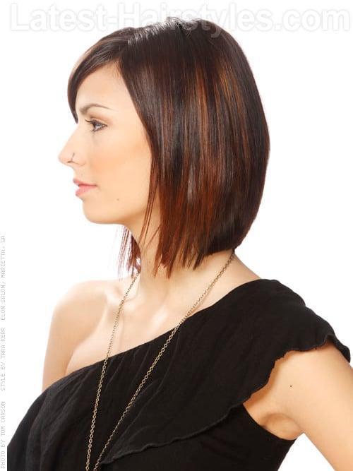 sleek thin hairstyle 2