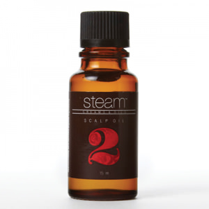 hair washing steam scalp oil