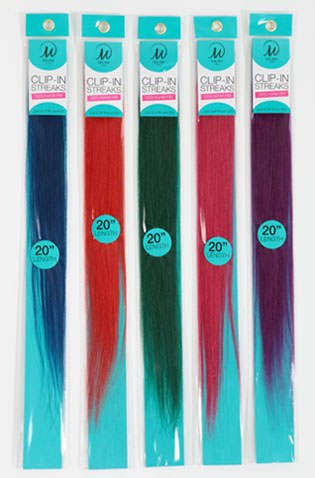 Color streaks hair accessories
