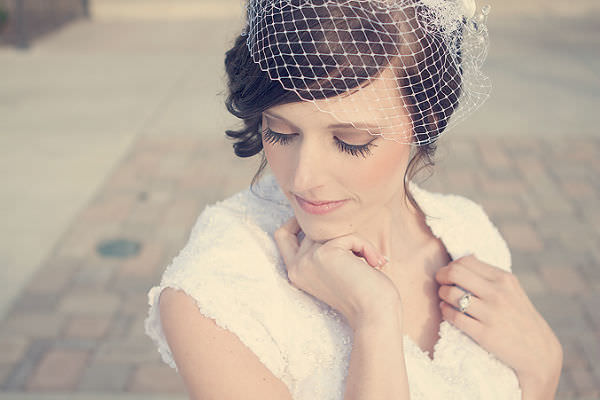 Birdcage Veil for Brides