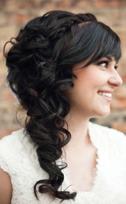 Top Wedding Hairstyles Side Curls for Long Hair 427 x 688 · 36 kB · jpeg