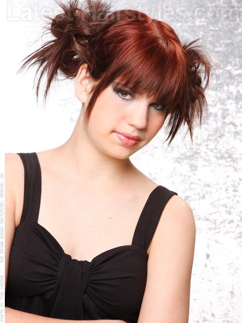 Brunette hair color for teen girls