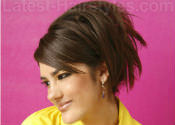 Picture of short hairstyle trends for 2012