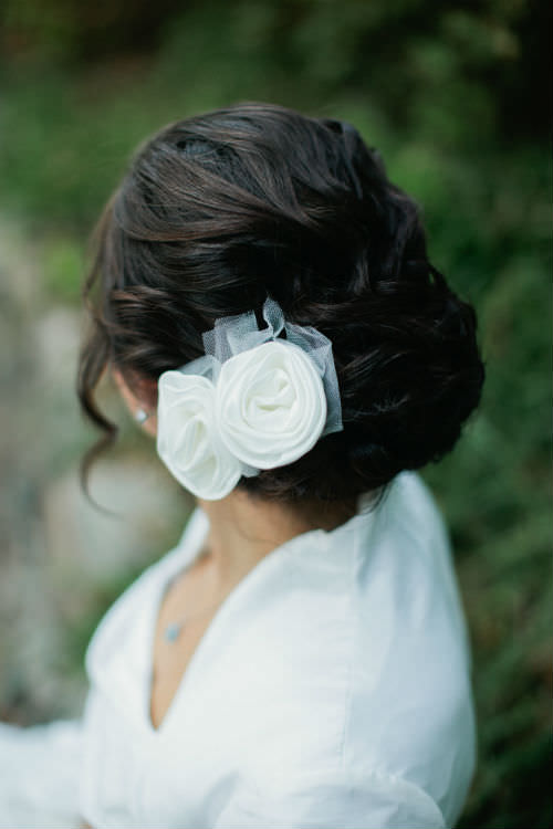 Flowers For Bridal Hair Accessory