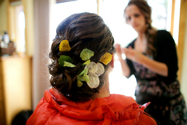 Leaves Bridal Hair Accessory