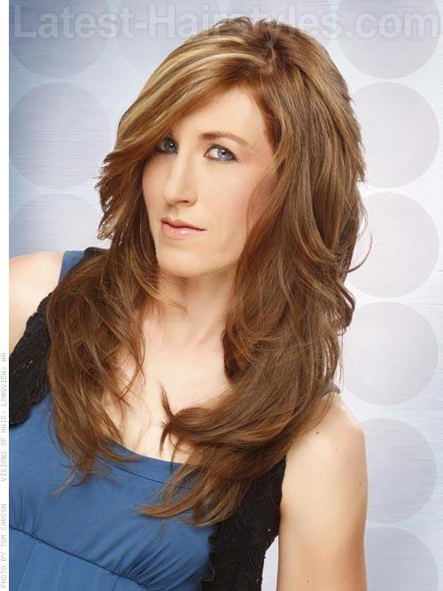 Pleasant 10 Lovely Long Shag Hairstyle Ideas For You To Try Short Hairstyles Gunalazisus