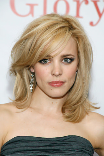 Rachel McAdams Celebrity Hairstyle For Long Hair