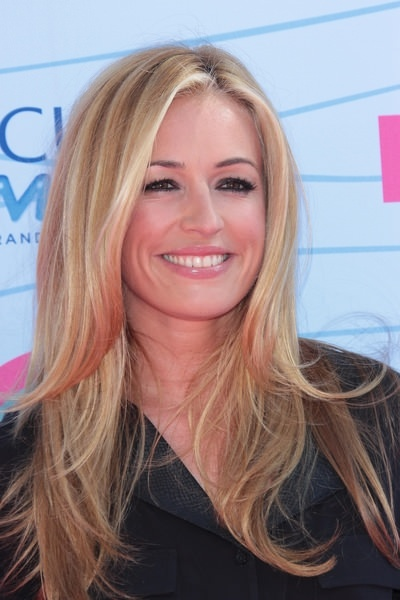 Cat Deeley Long Blonde Hair - 2012 Teen Choice Awards - Arrivals