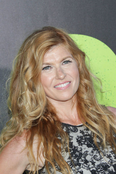 """Savages"" Los Angeles Premiere - Arrivals - Connie Britton Long Blonde Hair"
