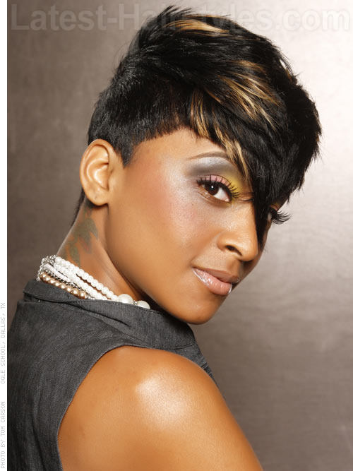 Funky Short Hairstyles For School - View 2