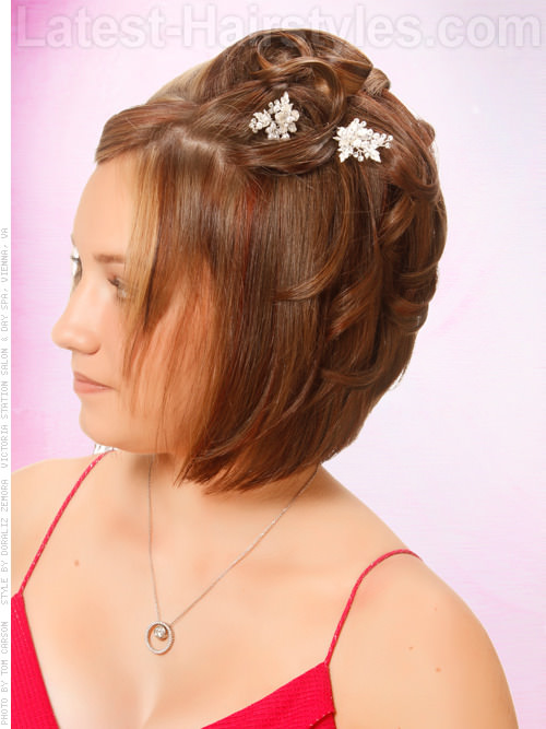 Homecoming Hairstyles Short Curly Hair Gallery