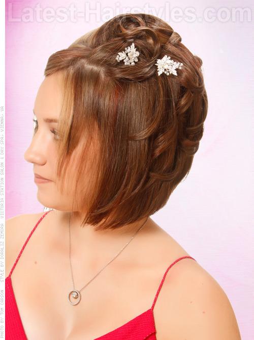 Terrific Be The Belle Of The Ball 10 Homecoming Hairstyles Short Hairstyles Gunalazisus