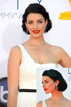hair emmys jessica pare