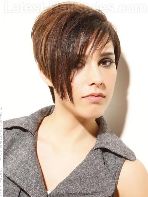 Short Tomboy Hairstyles with Bangs