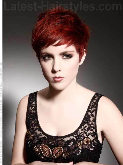 Fierce Pixie Hairstyles For Oval Faces