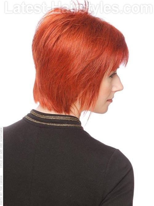 Ravishing Red Cute Piecey Layered Style