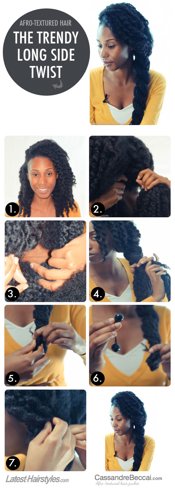 The Trendy Long Side Twist