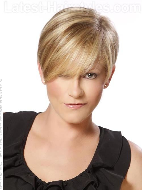 pictures of short style hair cuts