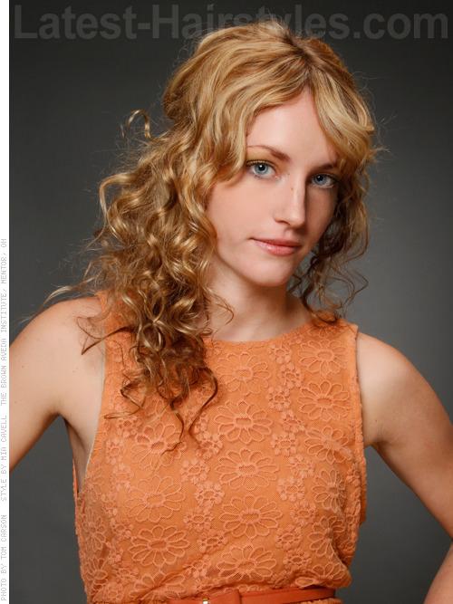 Mermaid Locks Casual Curly Easy Hairstyle for Long Hair