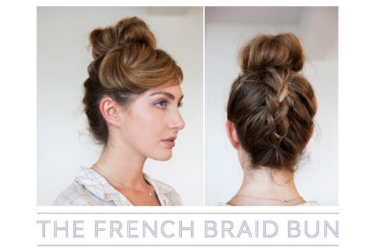 upside down french braid