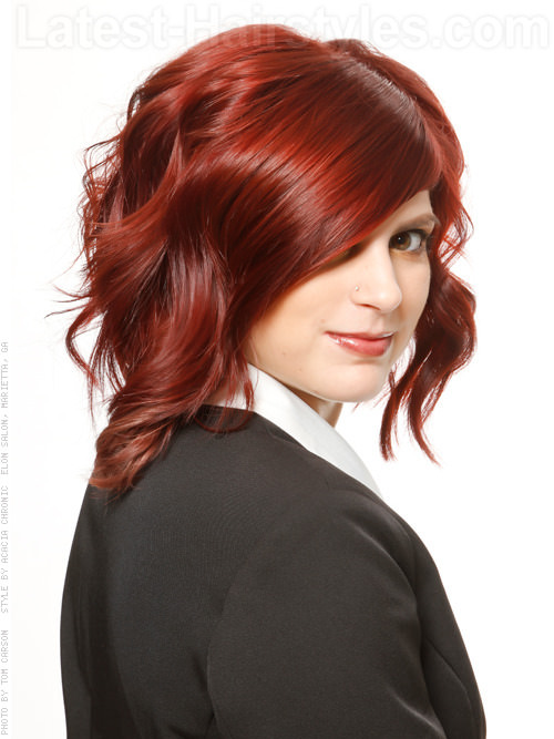 burgundy beauty medium style 20 Winter Hair Colors We Absolutely Really like hairstyles