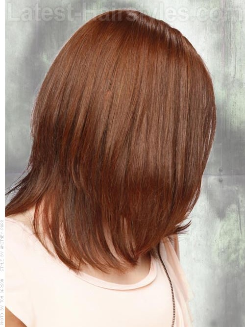 reddish hues medium look side view 20 Winter Hair Colors We Absolutely Really like hairstyles