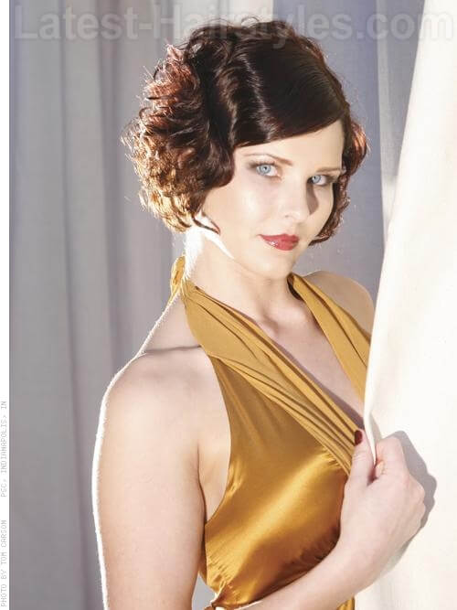 Finger Wave Prom Hairstyles For Short Hair