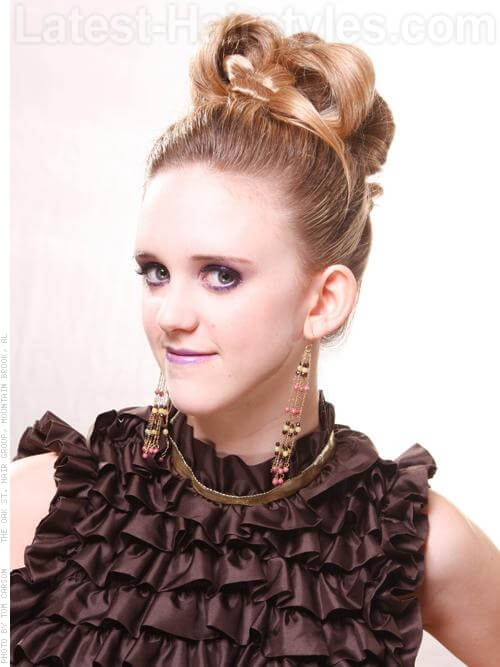 Pop Princess Barrel Curl Prom Hairstyles For Long Hair
