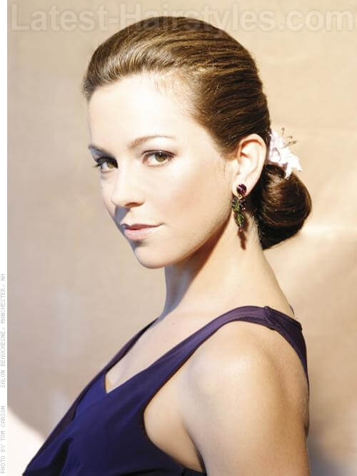 French Twist Prom Hairstyles For Long Hair