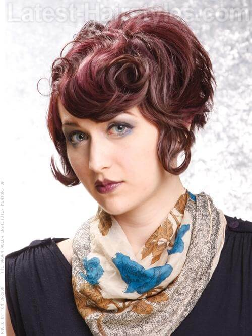 Ultra Mod Prom Hairstyles For Short Hair