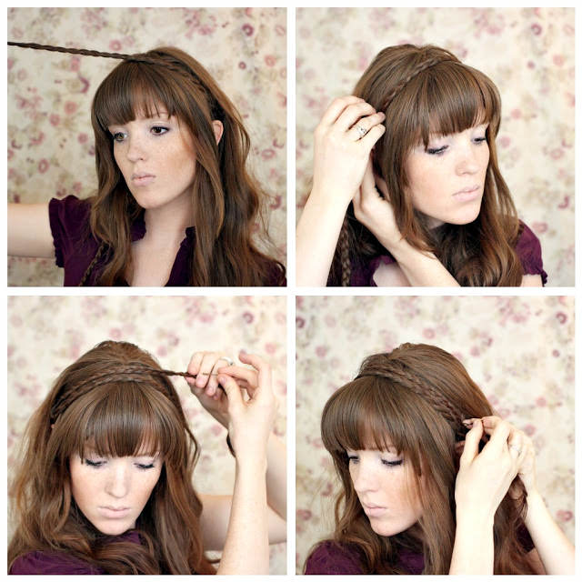 braided headband how to