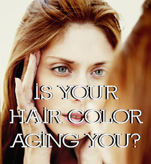 aging hair color